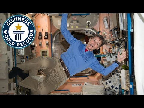 Space interview with NASA astronaut Dr Peggy Whitson - Guinness World Records