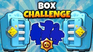 HUGE MEGA BRAWL BOX OPENING 1v1 CHALLENGE! BEN vs REY! | Brawl Stars | DRAFT BOX 1v1 CHALLENGE #2