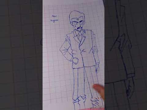 Những bức tranh mình vẽ Conan (p5)