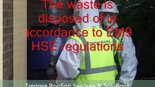 Asbestos Roof Repair/Coating TRENOVA UK