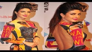 Raving Beauty Priyanka Chopra at Micromax MTV Video Music Awards India 2013
