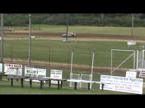 Victory Lap at Sportsman's Speedway 6-23-13