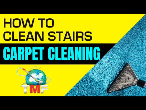 How to clean stairs-Carpet Cleaning How to Video by Rob Allen of Truckmountforums