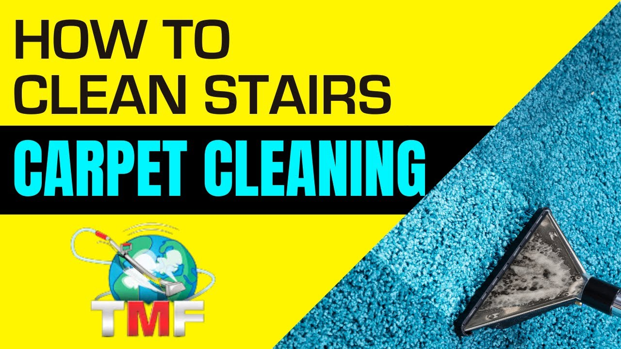 How To Clean Stairs Carpet Cleaning How To Video By Rob Allen Of  Truckmountforums   YouTube
