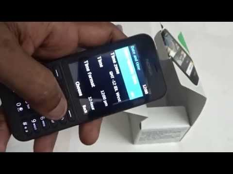 Nokia 215 Dual Sim Mobile Unboxing video