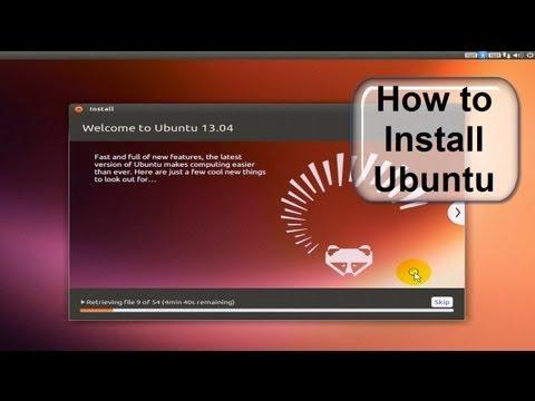 How to Install Ubuntu 13.04 in Minutes!!! - Free & Easy Ubuntu Download