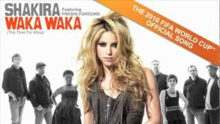 YouTube - Shakira feat Freshlyground- Waka Waka (This Time For Africa) OFFICIAL.flv