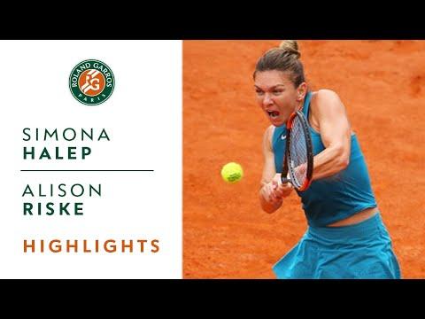Simona Halep vs Alison Riske - Round 1 Highlights I Roland-Garros 2018