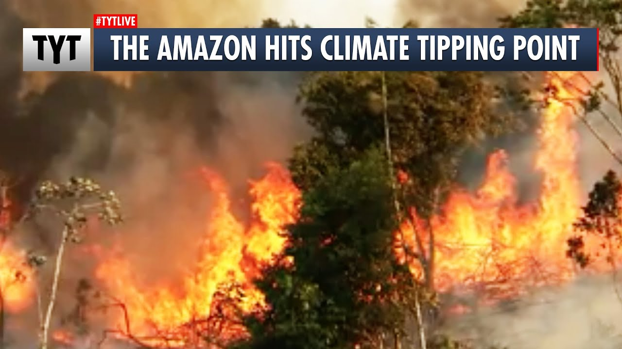 The Amazon Hits Climate Tipping Point