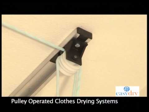 Easy Dry Pulley Operated System