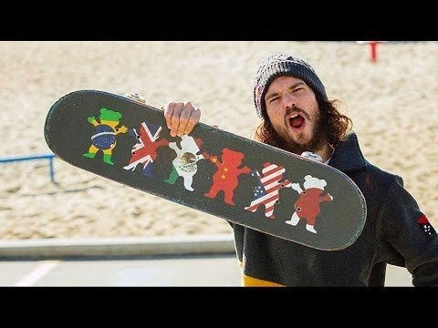 Torey Pudwill 2018 '' Destroy And Advance ''