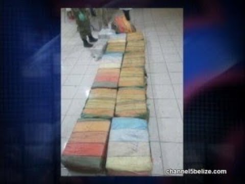 15 Bales of Cocaine Seized, 12 Guatemalans and 1 Belizean Busted