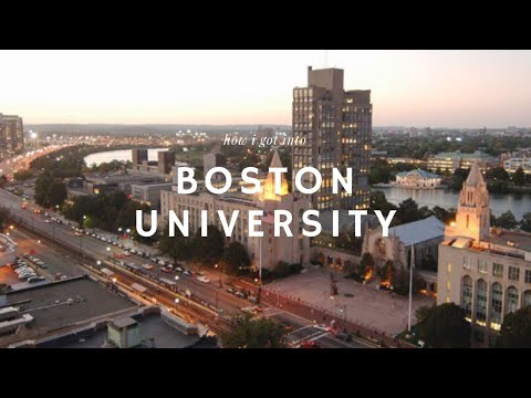 How I Got into Boston University