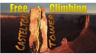 Climbing Castleton Tower!!!