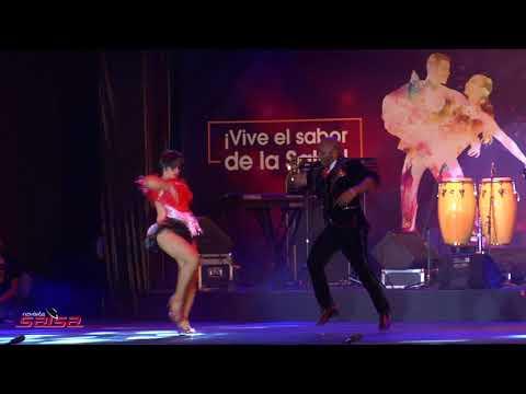 Ganadores Categoria Elite Salsa Caleña Eliana Feijoo Y Nilson Castro Festival Mundial De Salsa 2017