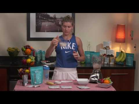 USANA MySmart Shake | Genie Bouchard