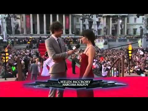 Helen McCrory at the Harry Potter and The Deathly Hollows Part 2 World Premiere
