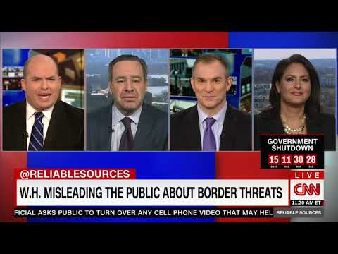 David Frum x CNN Reliable Sources: Trump stoking fear amid border funding fight
