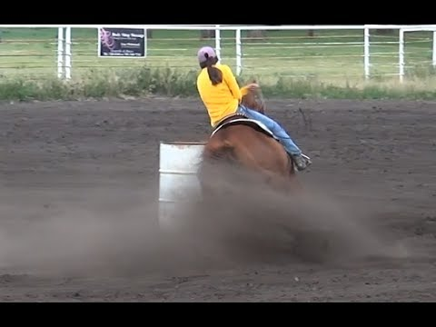 McHenry County Saddle Club Barrel Racing series 1 of 6 in 2017