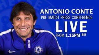 Antonio Conte's FA Cup Press Conference | Chelsea v Southam…
