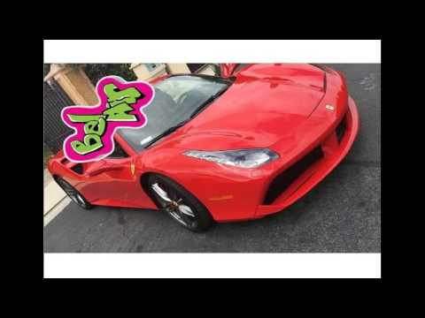 #Tyga Got His Red #Ferrari Back! Repo Car Is Back In #rappers Possession! Repossessed Luxury Car!