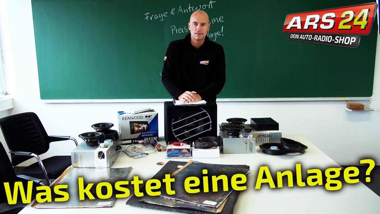was kostet eine gute soundanlage f rs auto ars24 youtube. Black Bedroom Furniture Sets. Home Design Ideas