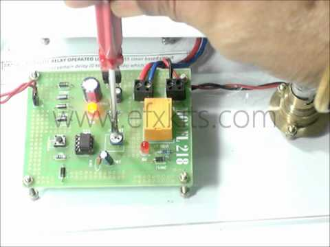 Time Delay Based Switch Control Relay Load Operation With 555 YouTube