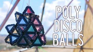 Making Polyhedron Disco Balls with Polypanels
