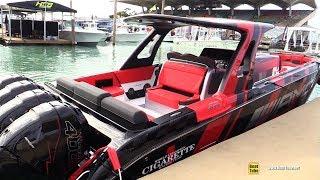 بالفيديو.. مرسيدس وسيجاريت ريسينج ينتجان قارب بثوب سيارة AMG GT4