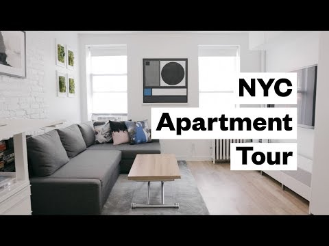 Apartment Tour! 300 sq. foot studio in NYC
