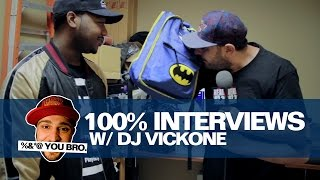 100% INTERVIEWS W/ DJ VICK ONE AND DOMO GENESIS!!!!!