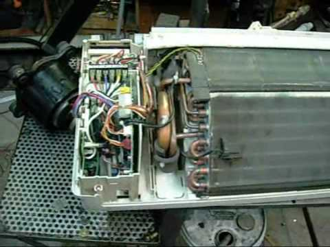 Fujitsu Evaporator Wall Unit - YouTube