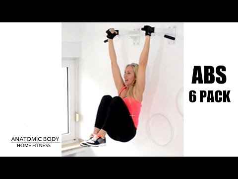 6 Pack Abs Workout With Pull-Up Bar ( Also For Women) Anatomic Body - Home Fitness