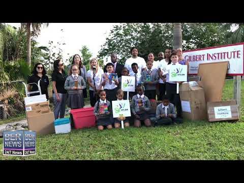 SPS Deliver School Supplies At Gilbert Institute, Nov 13 2019
