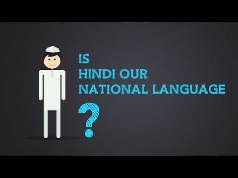Know about India - Is Hindi our national language?