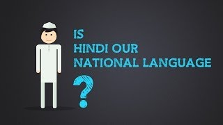 Is Hindi our national language? #KnowAboutIndia