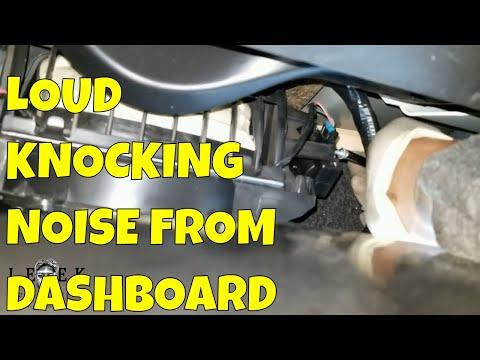 Loud Knocking Noise Behind Dashboard | 2006-2013 Chevy Impala