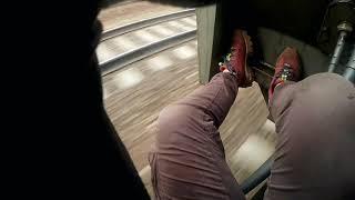 Зацепинг на высокоскоростном поезде ласточка
