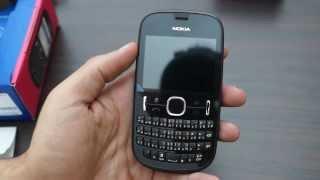 عملية فتح الصندوق للهاتف Nokia Asha 200