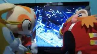 Tails VS Dr Eggman - Sonic & All Stars Racing Transformed Wii U