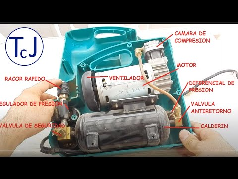 Compresor De Aire:Averia En Compresor De Aire Y Reparacion.How To Repair Compressor