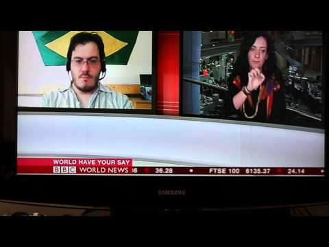 BBC World News 21-Jun-2013 - Brazil Protests - World Have Your Say (final segment)