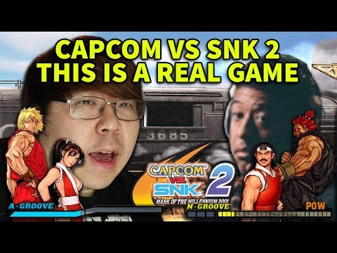 Capcom VS SNK 2 A REAL GAME JWong vs Flash + Commentary