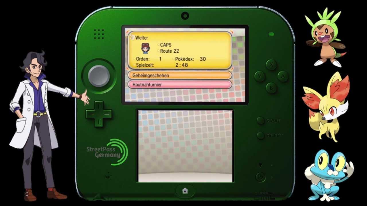 rencontre streetpass pokemon x cherche fille celibataire gratuit
