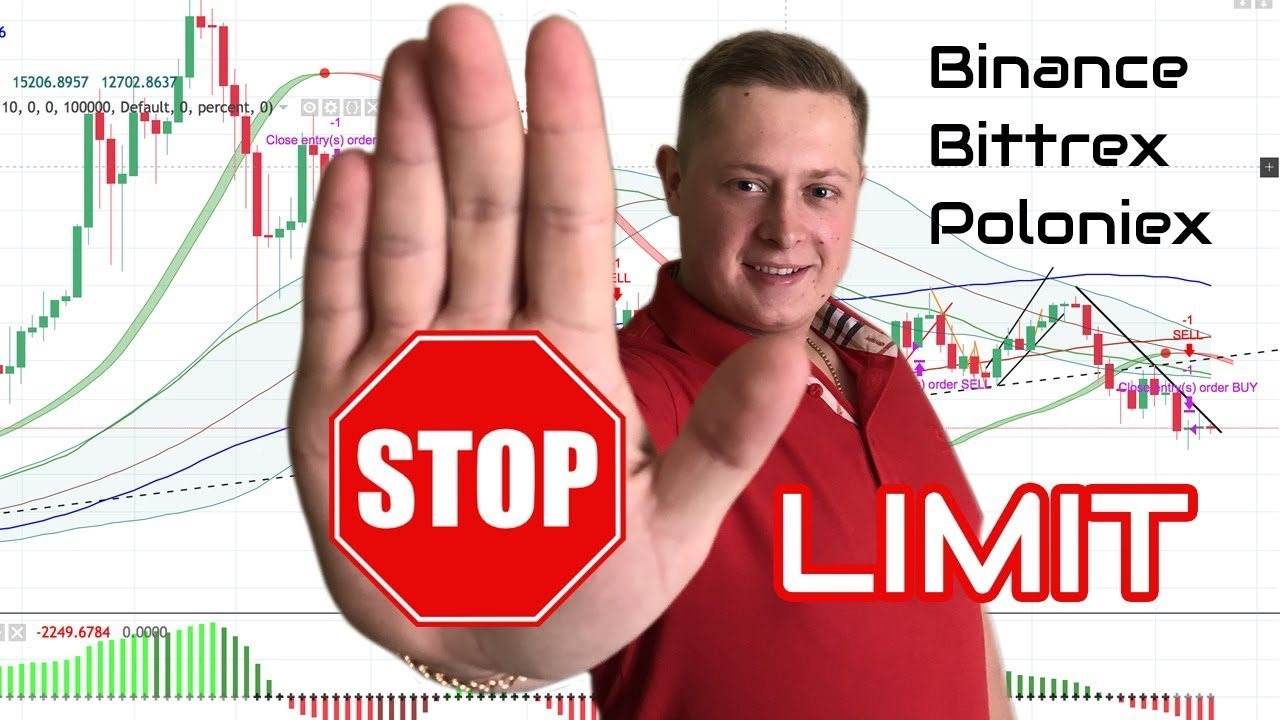 how to use binance stop limit