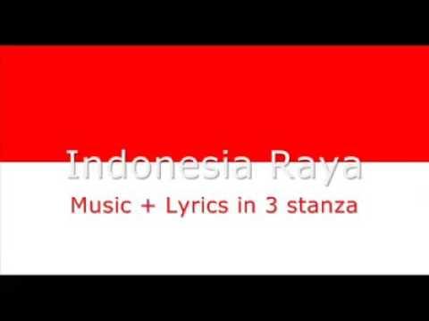 Lagu Indonesia Raya (lirik Bahasa Inggris)🇲🇨