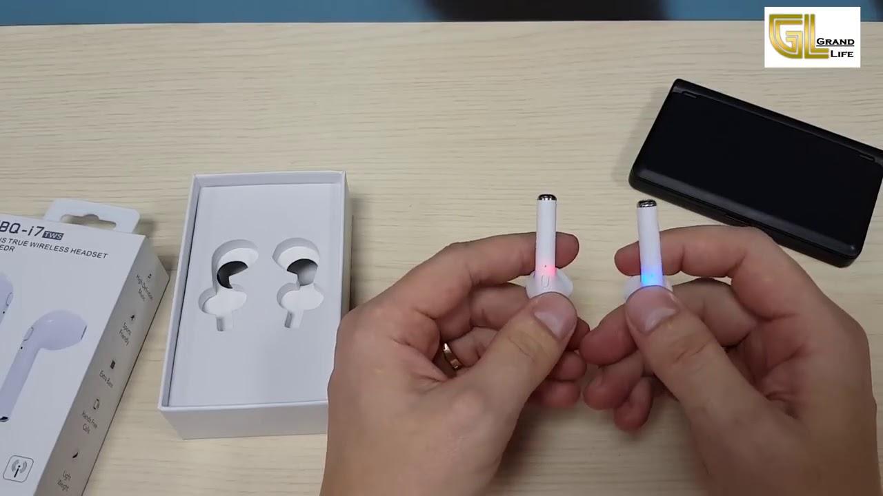 обзор Bluetooth наушники Hbq I7 Tws аналог Airpods обзор и