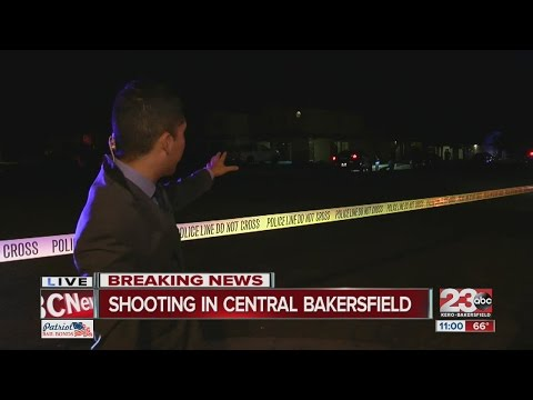 Shooting in Central Bakersfield