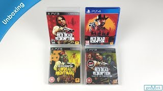 Red Dead Redemption Playstation Collection - Unboxing