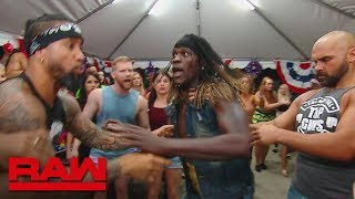 R-Truth defends the 24/7 Title at The Usos' BBQ: Raw, May 27, 2019